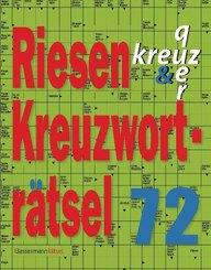 Riesen-Kreuzworträtsel - .72