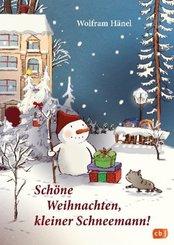 Schöne Weihnachten, kleiner Schneemann!