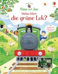 Nina und Jan - Wohin fährt die grüne Lok?