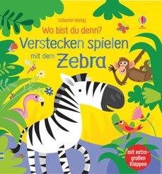 Wo bist du denn? Verstecken spielen mit dem Zebra