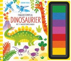 Fingerstempeln: Dinosaurier