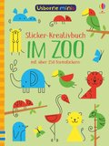 Sticker-Kreativbuch: Im Zoo