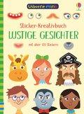 Sticker-Kreativbuch: Lustige Gesichter