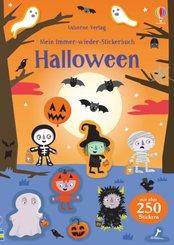 Mein Immer-wieder-Stickerbuch: Halloween