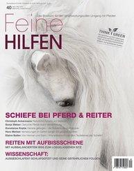 Feine Hilfen: Schiefe bei Pferd & Reiter; 40/2020