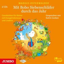 Mit Bobo Siebenschläfer durch das Jahr, 2 Audio-CD