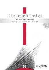 Die Lesepredigt 2020/20201, m. CD-ROM
