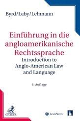 Einführung in die angloamerikanische Rechtssprache