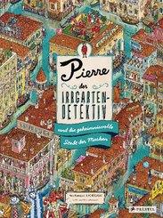 Pierre, der Irrgarten-Detektiv, und die geheimnisvolle Stadt der Masken