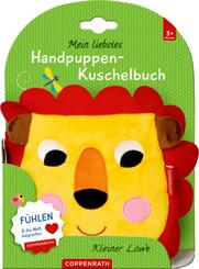 Mein liebstes Handpuppen-Kuschelbuch: Kleiner Löwe