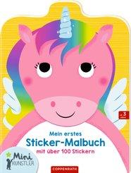 Mein erstes Sticker-Malbuch (Einhorn)