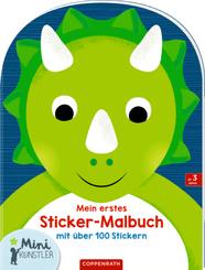 Mein erstes Sticker-Malbuch (Dinosaurier)
