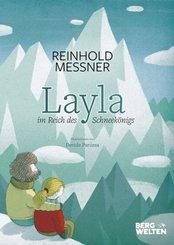 Layla im Land des Schneekönigs