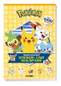 Pokémon: Superstarker Sticker- und Malspass