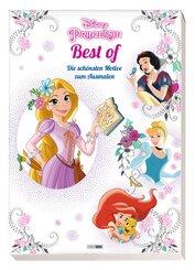 Disney Prinzessin Best of: Die schönsten Motive zum Ausmalen