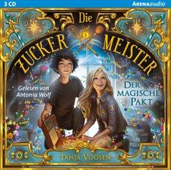 Die Zuckermeister - Der magische Pakt, 2 Audio-CD