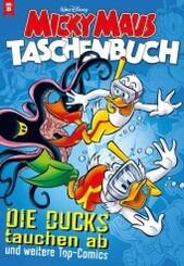 Micky Maus Taschenbuch - Die Ducks tauchen ab