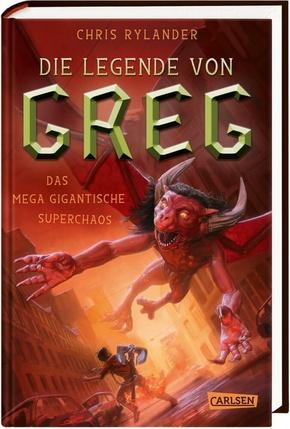 Die Legende von Greg: Das mega gigantische Superchaos