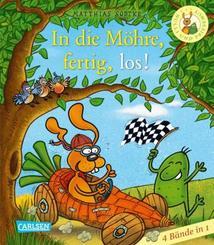 Nulli und Priesemut: In die Möhre, fertig, los! - Sammelband mit vier Büchern; Volume 2
