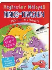 Magischer Malspaß: Dinos und Drachen