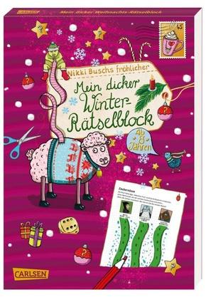 Mein dicker Winter-Rätselblock - Bd.6