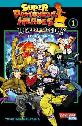 Super Dragon Ball Heroes Universe Mission - Bd.1