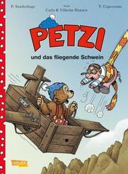 Petzi und das fliegende Ferkel - Bd.2