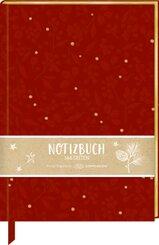 Samt-Notizbuch - Beeren & Blätter