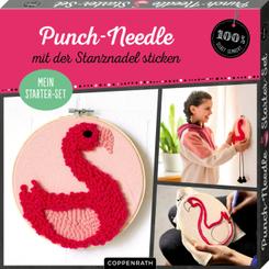 "Mein Punch-Needle Starter-Set ""Flamingo"""