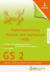 Probensammlung 2. Klasse Grundschule Heimat- und Sachkunde