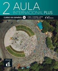 Aula internacional Plus - Libro del alumno + audios y vídeos online - Vol.2