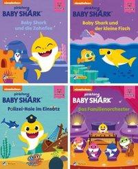 Baby Shark - Nr.1-4 (24 Expl. (4 Titel))