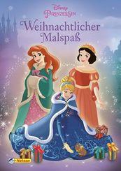 Disney Prinzessin: Weihnachtlicher Malspaß