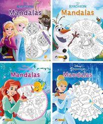 Disney Mandalas, 4 Hefte
