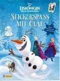 Disney Die Eiskönigin, Völlig unverfroren - Stickerspaß mit Olaf