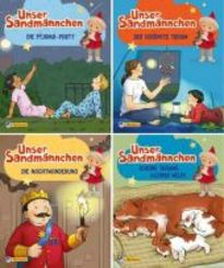 Unser Sandmännchen: Gute-Nacht-Geschichten, 4 Hefte - Nr.5-8