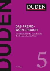 Duden - Das Fremdwörterbuch