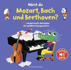Hörst du Mozart, Bach und Beethoven?, m. Soundeffekten; Band 10
