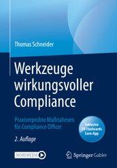 Werkzeuge wirkungsvoller Compliance, m. 1 Buch, m. 1 E-Book
