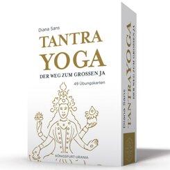 Tantra-Yoga - Der Weg zum Großen JA!, 49 Übungskarten mit Anleitung