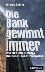 Die Bank gewinnt immer; II. Moral and Politi