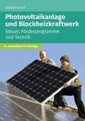 Photovoltaikanlage und Blockheizkraftwerk