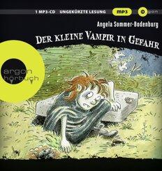 Der kleine Vampir in Gefahr, 1 Audio-CD, MP3