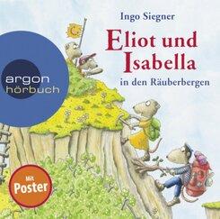 Eliot und Isabella in den Räuberbergen, 2 Audio-CD