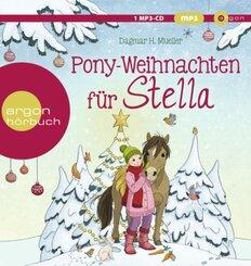 Pony-Weihnachten für Stella, 1 Audio-CD, MP3
