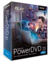 CyberLink PowerDVD 20 Pro, 1 DVD-ROM