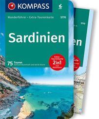 KOMPASS Wanderführer Sardinien, m. 1 Karte
