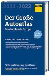ADAC Der Große AutoAtlas 2021/2021 1:300 000 - Deutschland, Österreich