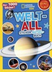 Weltall Sticker-Rätsel-Buch
