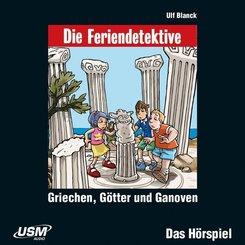 Die Feriendetektive: Griechen, Götter und Ganoven, 1 Audio-CD